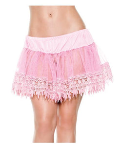 Tear Drop Petticoat in Pink