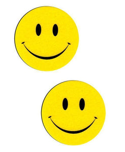 Smiley Face Novelty Pasties Nipple Covers