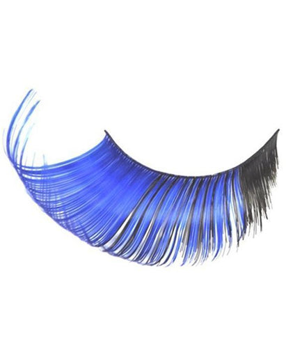 Jumbo Fantasy Eyelashes in Black and Blue
