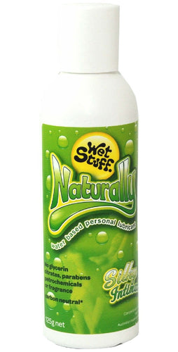 Adult's Fragrance Free Wet Stuff Naturally Personal Lubricant