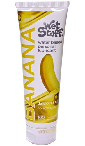 Banana Flavoured Water Based Personal Lubricant