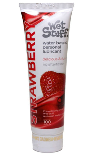 Strawberry Flavoured Wet Stuff Personal Lubricant