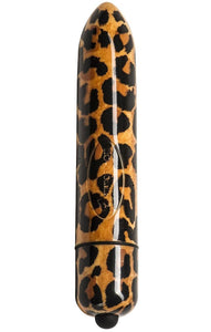 160mm Leopard Print Adult Toy Vibrator with 10 Speeds Main Image