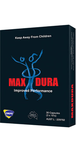 Men's Max Dura Performance Enhancing Tablets by Zifam