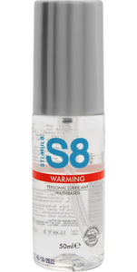 Stimul8 Warming Water Based Lubricant - 50ml