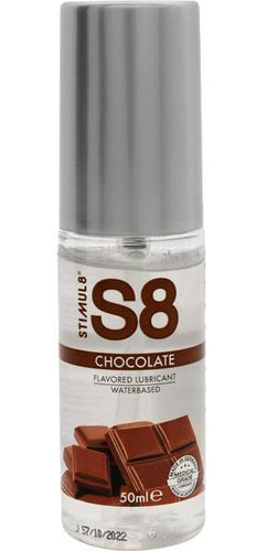 Stimul8 Chocolate Flavoured Water Based Lube - 50ml
