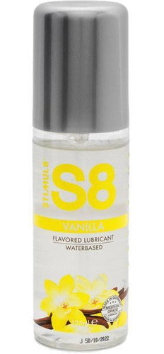 125ml Vanilla Flavoured Water Based Sex Lubricant