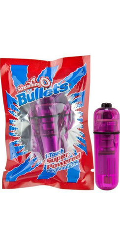 Purple Screaming O Women's Vibrating Bullet Sex Toy Main Image