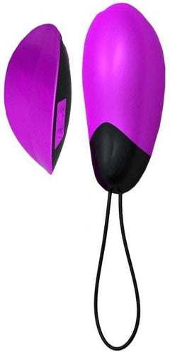 Rose Pink Adult's Remote Controlled Egg Vibrator