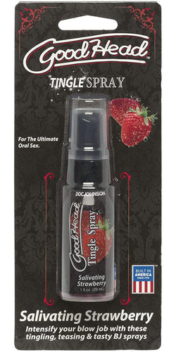 Good Head Salivating Strawberry Flavoured Tingling Oral Spray - Main Image