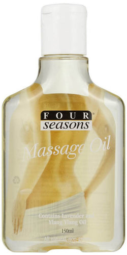 Four Seasons Sensual Massage Oil With Lavender and Ylang Ylang Essential Oils