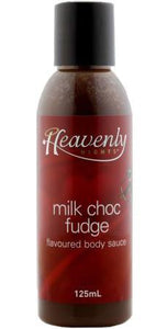 125ml Milk Chocolate Fudge Edible Body Chocolate Sauce