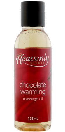 Chocolate Fragranced Warming Massage Oil for Adult's