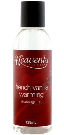 French Vanilla Edible Warming Massage Oil For Adult's