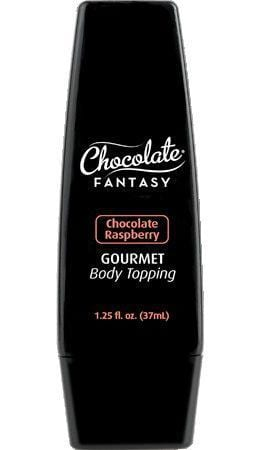 Gourmet Chocolate Raspberry Edible Body Chocolate Topping