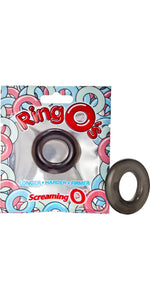 Screaming O Black Stretchy Silicone Cock Ring - Main Image