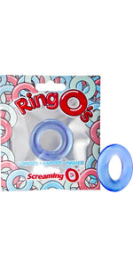 Screaming O Blue Stretchy Silicone Cock Ring - Main Image