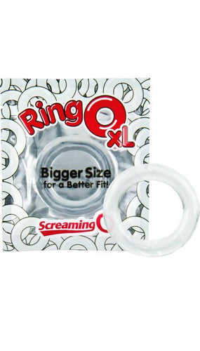 Screaming O RingO XL Clear Cock Ring For Men Main Image