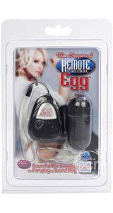 Remote Controlled Black Vibrating Bullet Adult Toy Main Image