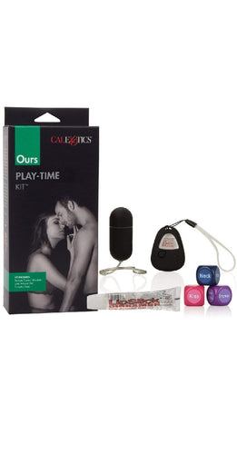 Adult's Erotic Play Kit with Vibrator, Arousal Gel and Foreplay Dice