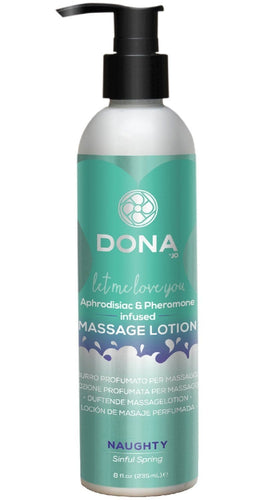 Sinful Spring Adult's Naughty Bedroom Massage Lotion - 235ml