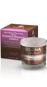 Edible Chocolate Mousse Massage Oil Candle Main Image