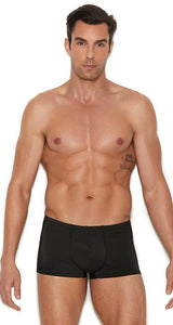 Black Lycra Briefs for Men Front Image