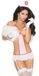 Sexy Nurse Feel Good Women's Lingerie Costume Front Image
