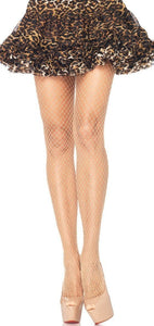 Full Length Nude Industrial Fishnet Lingerie Pantyhose