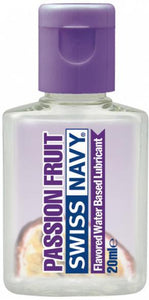 20ml Water Based Passion Fruit Flavoured Sex Lubricant