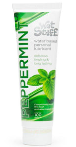 Tingling Peppermint Wet Stuff Water Based Sex Lubricant