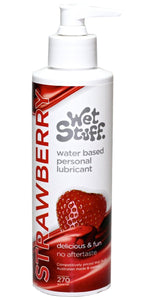 Strawberry Flavoured Water Based Personal Lubricant - 270 grams