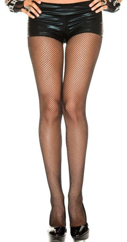 Women's Sexy Black Fishnet Pantyhose 2