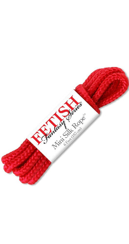 Fetish Fantasy Mini Red Bondage Rope For Adult's Main Image