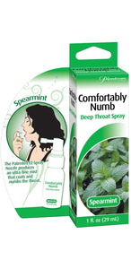Spearmint Comfortably Numb Deep Throat Spray Main Image