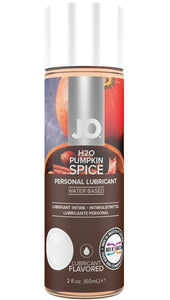 Water Based 60ml Pumpkin Spice Flavour Lube Front Image