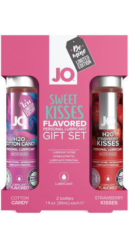 Cotton Candy and Strawberry Kisses Flavoured Sex Lube Gift Set
