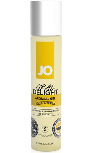 Jo Vanilla Thrill Oral Delight Arousal Gel Main Image