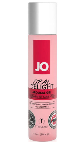 Jo Strawberry Sensation Oral Delight Arousal Gel Main Image