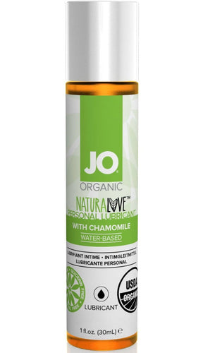 Chamomile Infused Water Based Organic Lubricant - 30ml