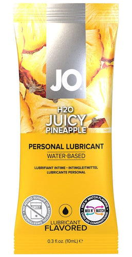 10ml Water Based Pineapple Flavoured Lube Sachet