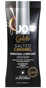 10ml Water Based Salted Caramel Gelato Flavoured Lube Sachet