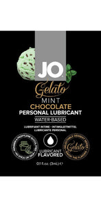 3ml Sample Sachet Mint Chocolate Gelato Flavoured Water Based Lube