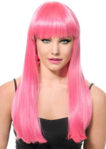 Pink Friday Deluxe Pink Fashion Wig