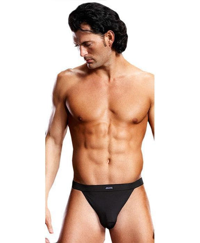 Lycra Men's Jockstrap Lingerie in Black