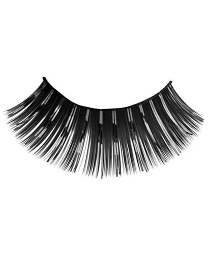 Tinsel Eyelashes in Black