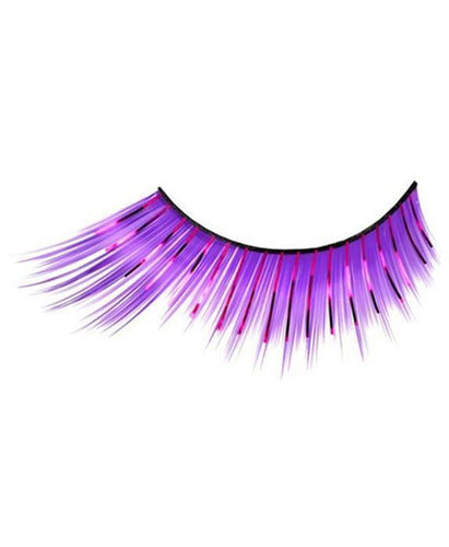 Tinsel Split Eyelashes in Purple