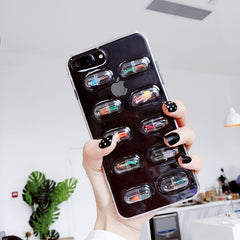 3D Pill Capsule iPhone Case