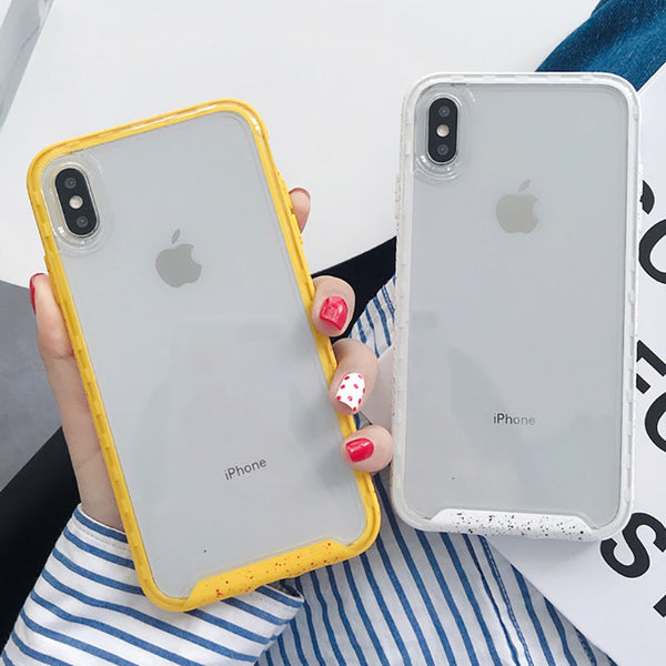 Candy Color Shockproof iPhone Case