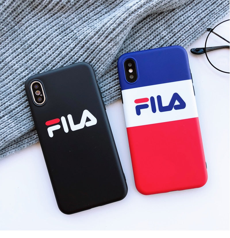 100% authentic 827f2 260ba FILA Sports Soft iPhone Case